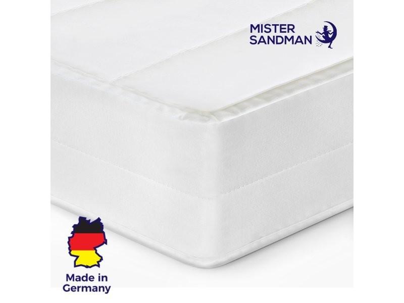 Matelas 160x220 cm matelas sommeil réparateur sans matière nocive confort ferme matelas housse lavable, épaisseur 15 cm