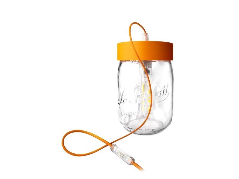 Lampe bocal 39 le parfait 39 en verre d20 cm vente de - Lampe bocal le parfait ...