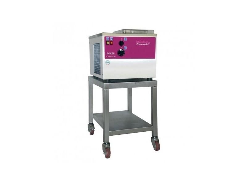 Sorbetière à extraction manuelle - série gel - 10 litres / heure - furnotel -
