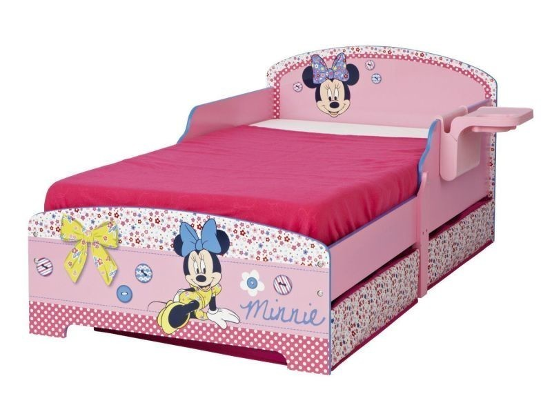 lit enfant disney minnie mousse conforama. Black Bedroom Furniture Sets. Home Design Ideas