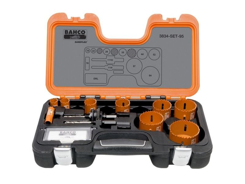Bahco scie cloche professionnelle 16-64 mm 3834-set-95 402567