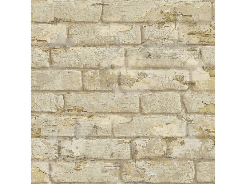 Papier Peint Briques Ecaillees Vente De Koziel Conforama