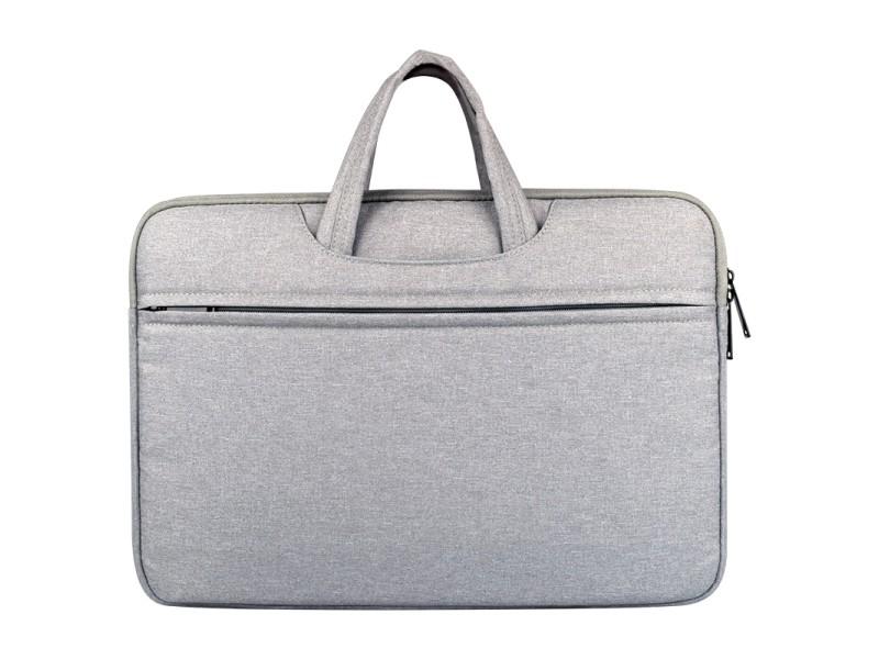 8751187211 Sacoche ordinateur 14.1 pouces gris pour 14 et ci-dessous macbook, samsung,  lenovo, sony, dell alienware, chuwi, asus, hp sac à bandoulière portatif ...