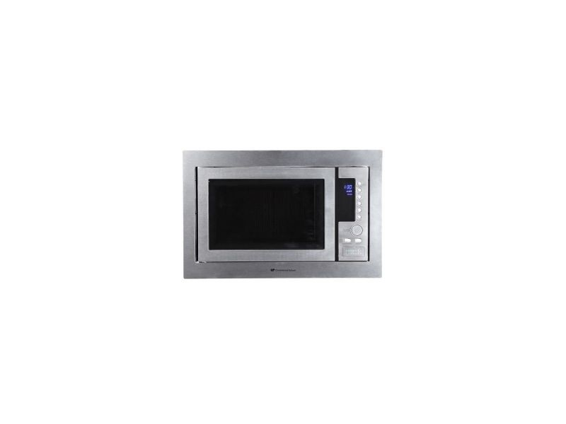 Continental edison cemo25ge micro ondes encastrable - 25 l - 800 w - porte miroir CEMO25GE