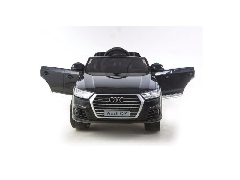 Nouvelle Audi Roues Q7 Électrique Enfant Voiture Gomme 12v Noir c3j5ARL4qS