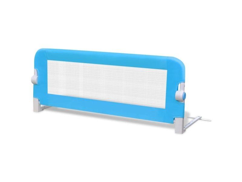 Vidaxl Barrière De Lit Pour Enfants 102 X 42 Cm Bleu 10103 Vente