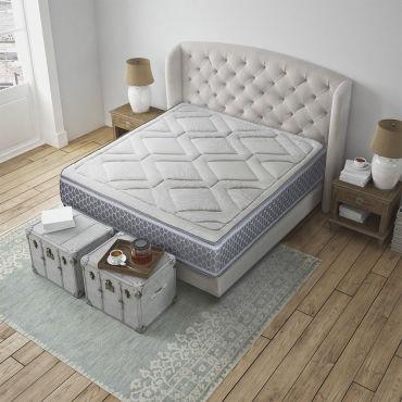 matelas aura 140x200 m moire de forme 26 cm vente de olympe literie conforama. Black Bedroom Furniture Sets. Home Design Ideas