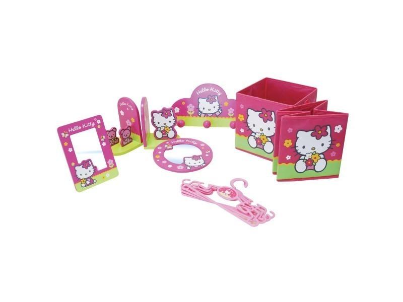 Coffret Déco Hello Kitty 10 Pièces