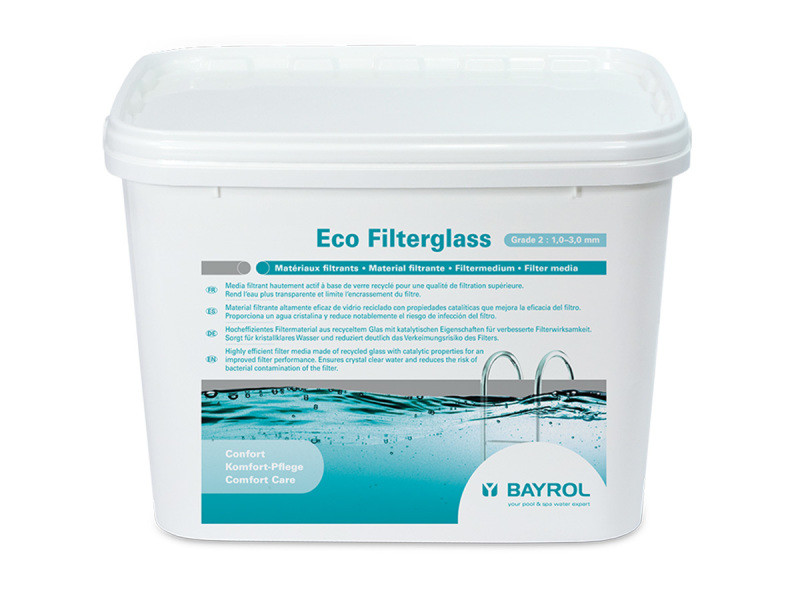 Verre filtrant eco filterglass grade 2 20 kg - bayrol