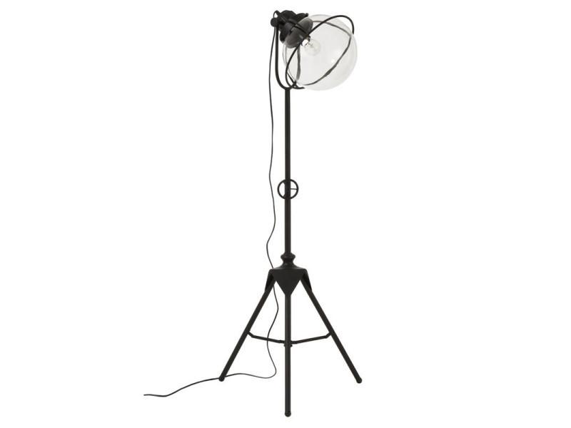 Lampadaire métal/verre noir - marsouin - l 34 x l 30 x h 172 - neuf - Vente de Lampadaire CdGHk