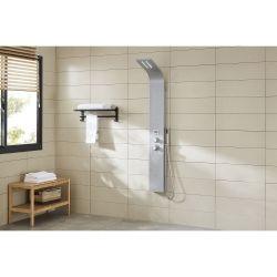 Hya : colonne de douche balnéo, micro-jets massant et éclairage par led