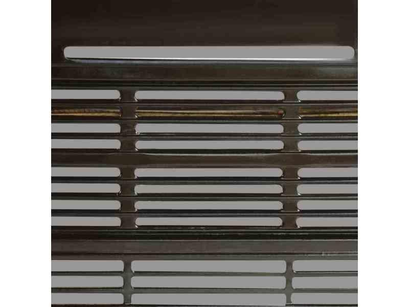 Icaverne - tables de salle à manger et de cuisine reference table de bar forme de camion bois de manguier massif gris foncé
