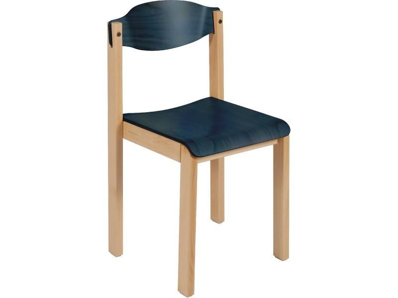 chaise en bois dreux conforama. Black Bedroom Furniture Sets. Home Design Ideas