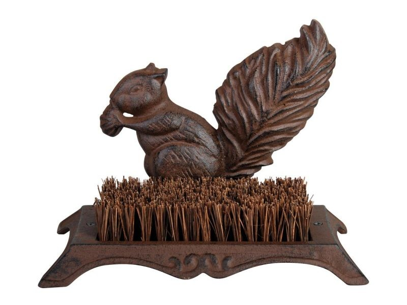Brosse pied écureuil