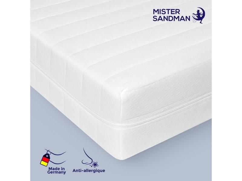 Matelas 160 x 200cm matelas ferme confortable pas cher sommeil réparateur- épaisseur 15 cm MISTER SANDMAN