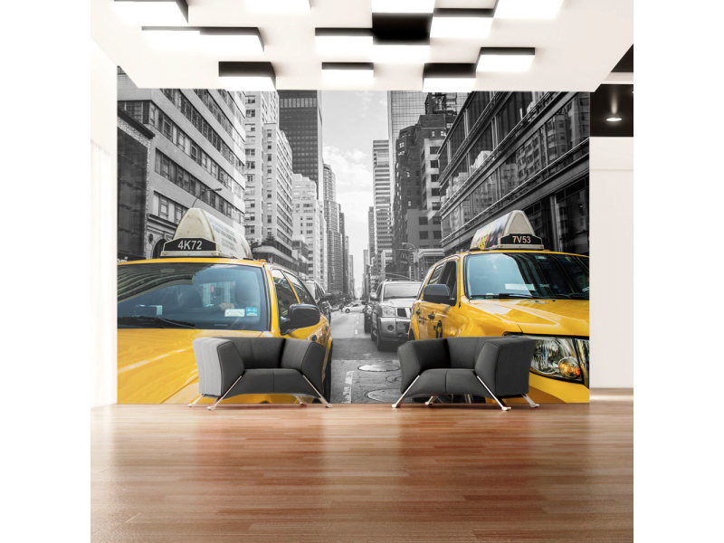 Papier peint - new york taxi 350x245