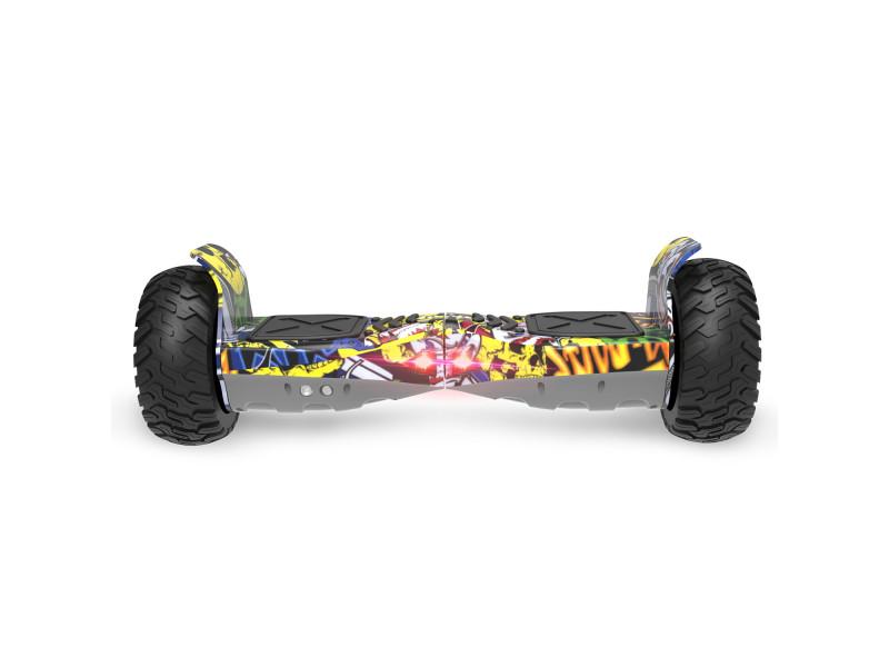 cool fun hoverboard bluetooth tout terrain gyropode 8 5 pouces model hummer board hip hop. Black Bedroom Furniture Sets. Home Design Ideas