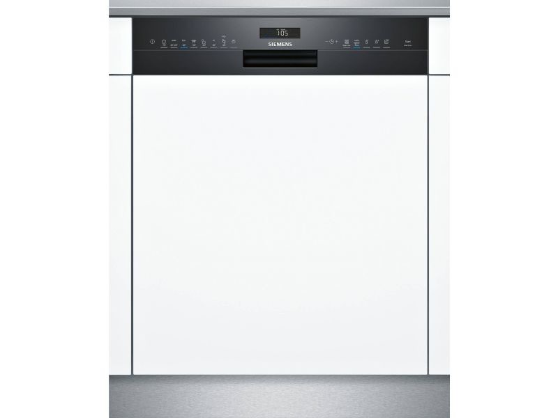 Lave-vaisselle 60cm 14c 42db a++ intégrable avec bandeau noir - sn558b09me sn558b09me