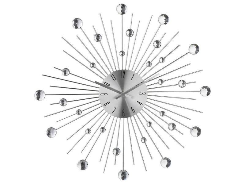Pendule Alu Strass O50cm Vente De Atmosphera Conforama
