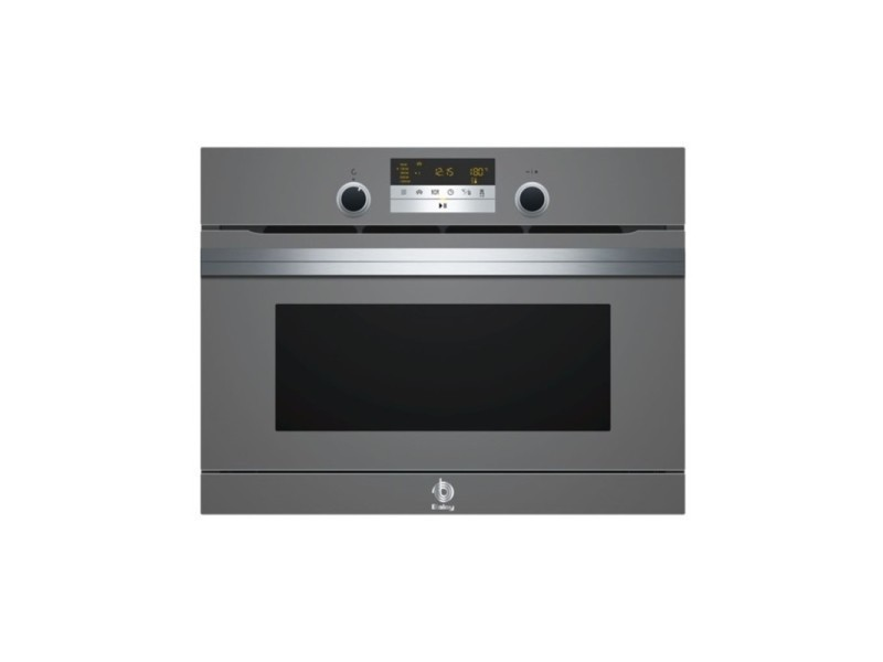 Four à micro-ondes compact balay 3ch5656a0 multifunction steam anthracite