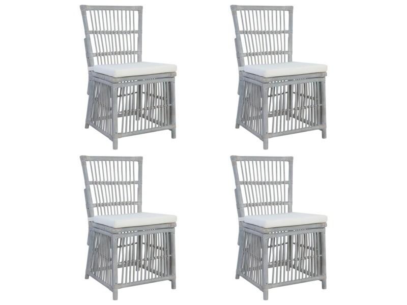 Icaverne chaises de cuisine serie chaises à dîner 4 pcs