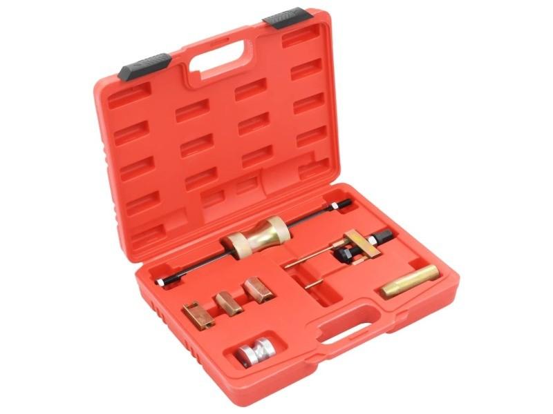 Distingué equipement et outils de garage collection manama kit d'outils d'extraction d'injecteur laser acier au carbone