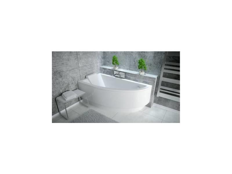 baignoire d 39 angle oriego droite ou gauche avec tablier vente de azura home design conforama. Black Bedroom Furniture Sets. Home Design Ideas