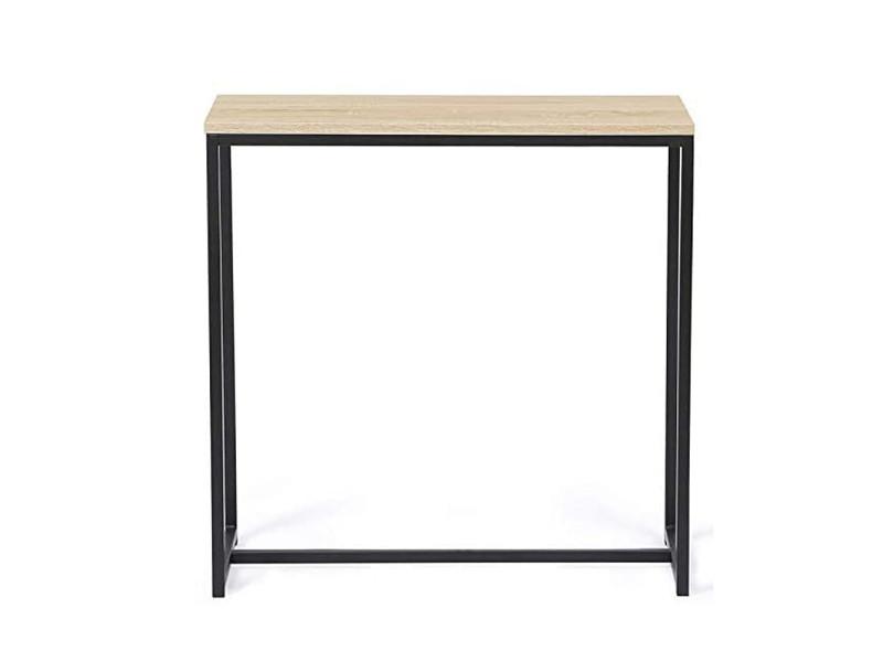 Table basse hombuy de style industriel 80*30*80cm