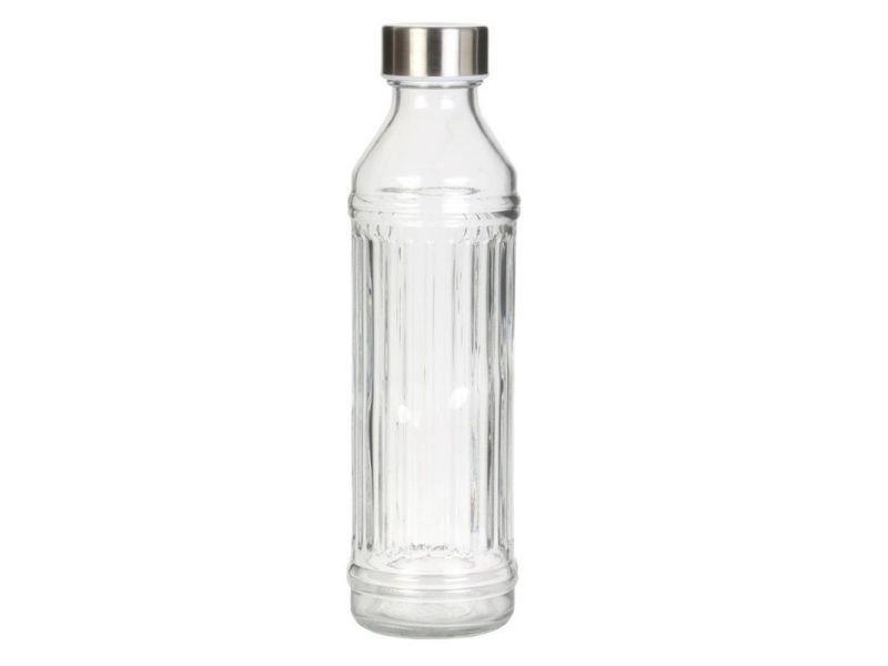 ganzoo-couleur Fiaschetta design bidon avec bouchon /à vis 5, oz, en acier inoxydable, taschenflachmann edelstahlflachmann -- flasque portatile, alcool, whisky vodka, le schnaps, gin weinbrandt uvm. argent