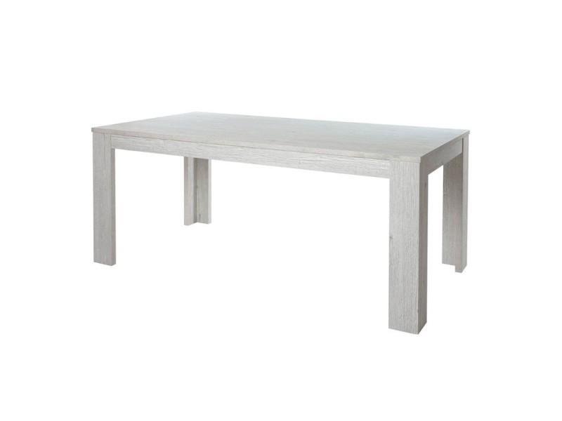Table de repas 160 cm - oji - l 160 x l 92 x h 75 - neuf