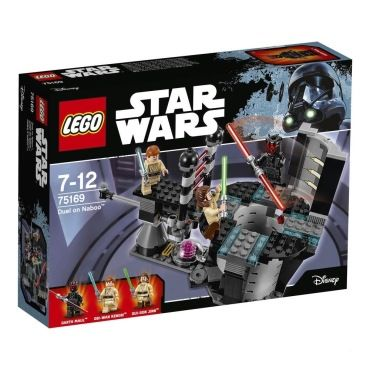 75169 duel on naboo lego r star wars 0117 75169 vente de lego conforama. Black Bedroom Furniture Sets. Home Design Ideas