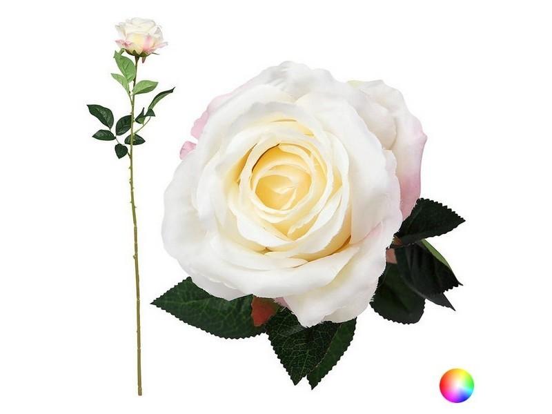 Rose artificielle et décorative couleur - rose