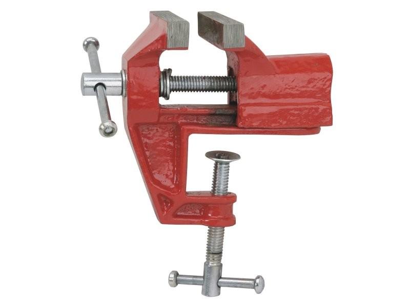 Étau agrafe en acier 70 mm de table établi bricolage modélisme précision mini helloshop26 3417086