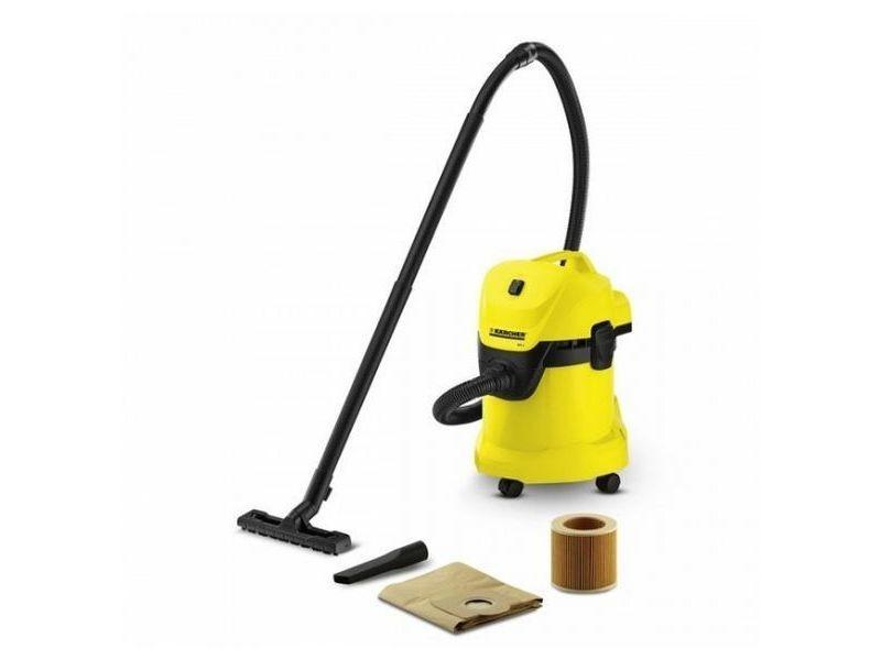Aspirateurs et robots distingué aspirateur karcher wd5 25 l 200w jaune