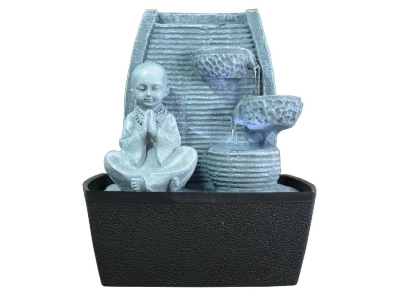 Fontaine d'intérieur feng shui jeune bonze senza shido