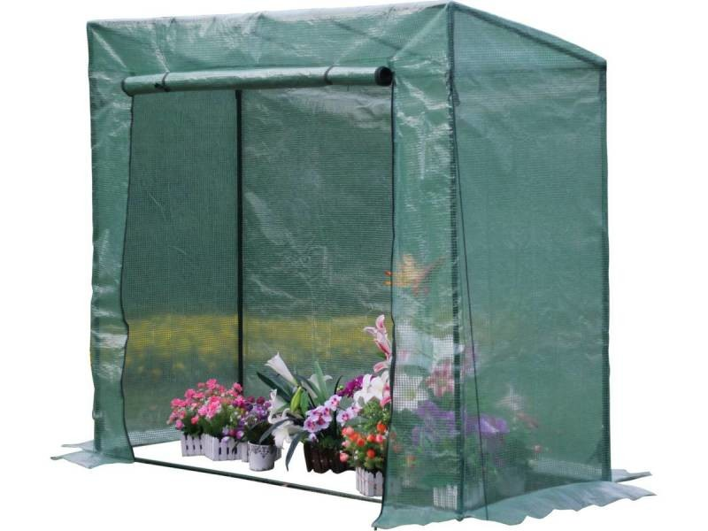 Serre tomate petunia 2 x x m vente de habitat et jardin conforama - Serre de jardin carrefour ...