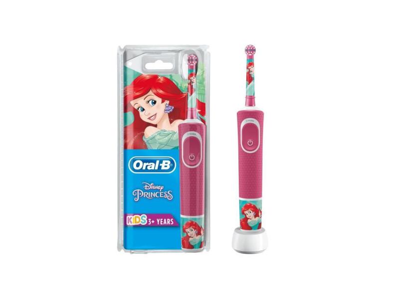 Oral-b kids brosse a dents electrique - princesses - adaptee a partir de 3 ans, offre le nettoyage doux et efficace ORA4210201241171