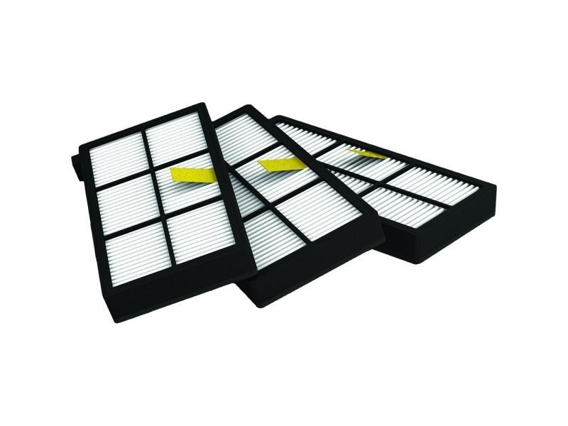 """pack de 3 filtres aerofroce irobot roomba série 800 et 900"""