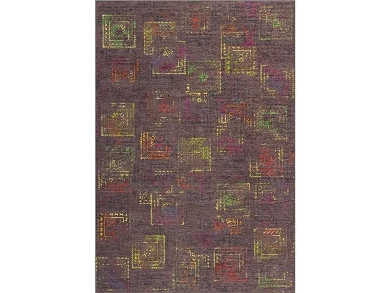 Tapis atelier 4477 multicolore ble J2H9T-70-140-N