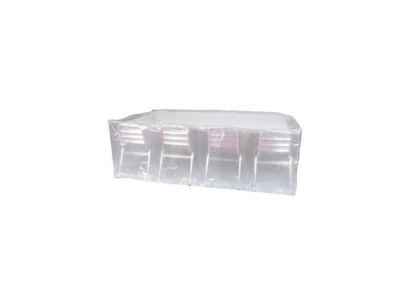 Housse de protection transparente pour de table rectangulaire vente de salon de jardin conforama - Protection transparente table ...