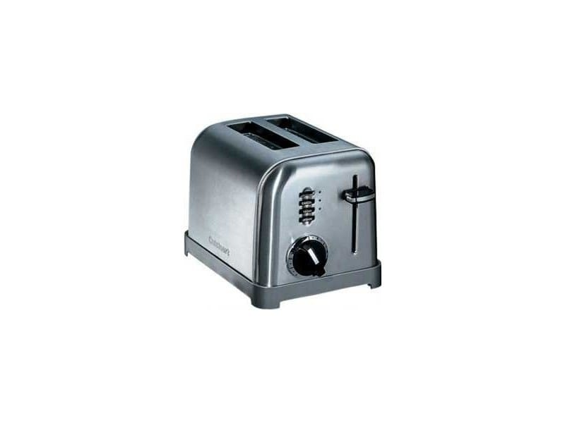 Grille pain/toaster cuisinart cpt160e