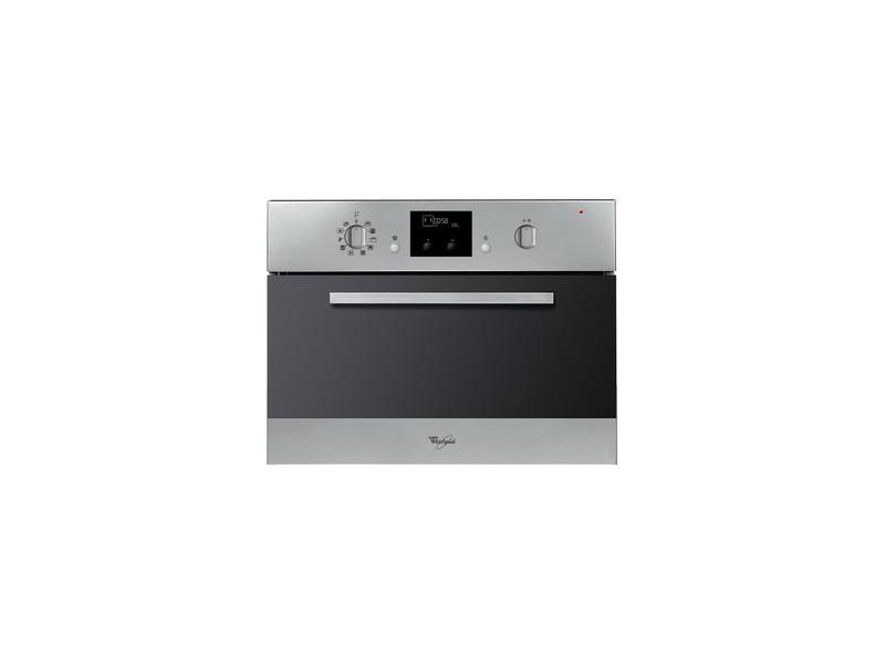 Whirlpool amw 799 ix intégré 40l 900w noir, acier inoxydable micro-onde