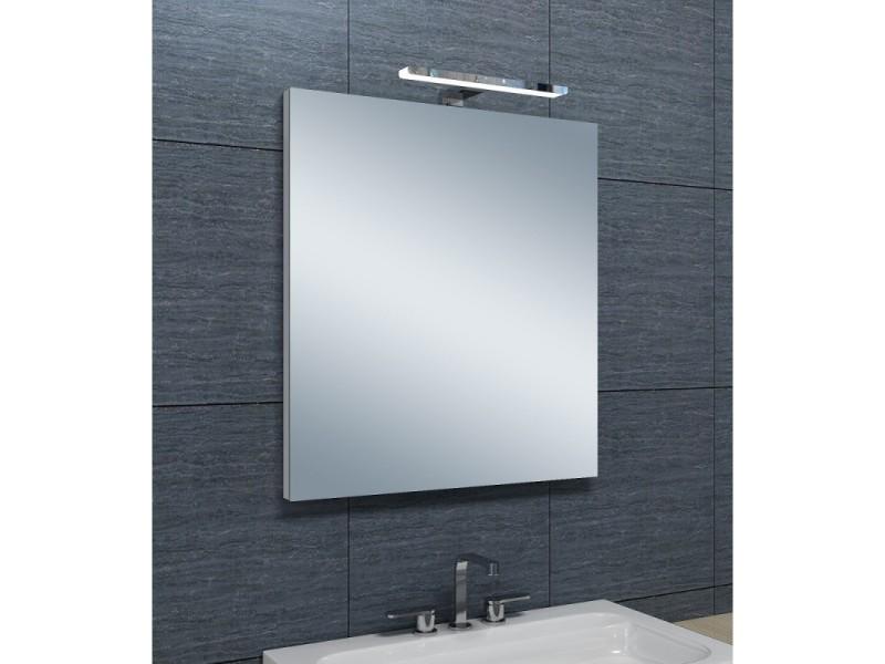 Miroir de salle de bains avec spot led horizontale - 65 cm x ...