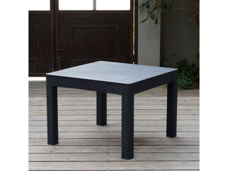 allibert mobilier de jardin 4 pcs orlando graphite 226515 408941 vente de allibert conforama. Black Bedroom Furniture Sets. Home Design Ideas