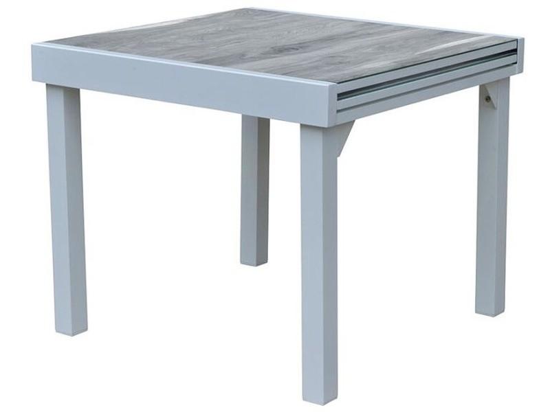 Table de jardin modulo wood 90 à 180 cm - Vente de WILSA GARDEN ...