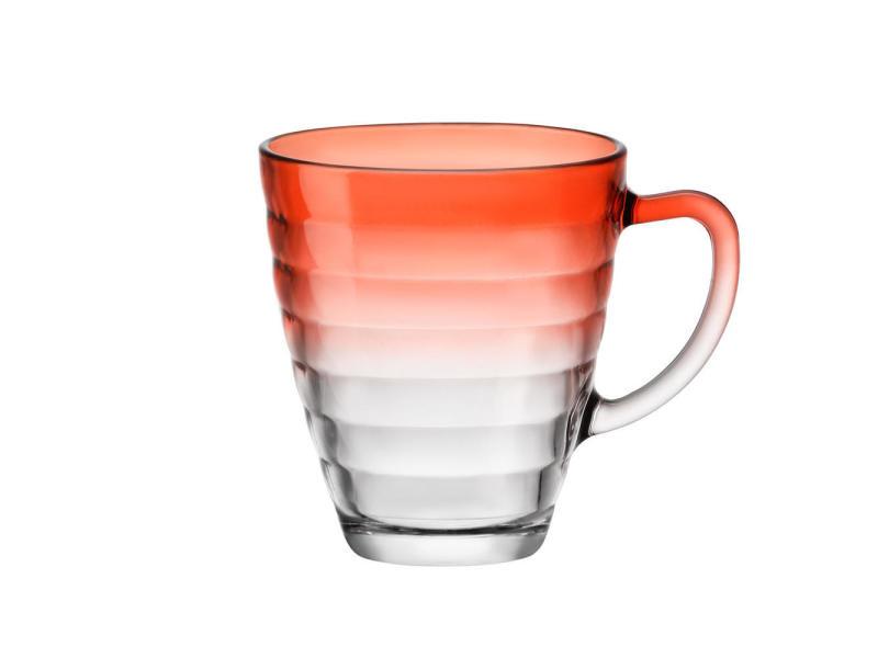 Mug circles orange 31 cl. (lot de 6)