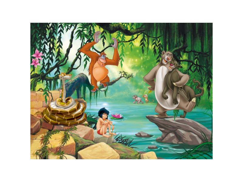 Papier Peint Xxl Intisse Le Livre De La Jungle Disney