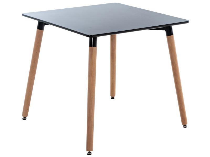 Table de cuisine viborg , noir /80 cm