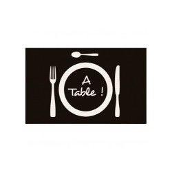 Tapis a table touché moquette 50x80