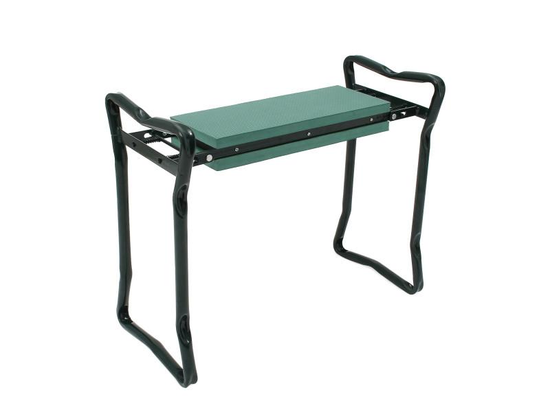 Siège de jardin pliable, banc agenouilloir de jardin, vert, taille déployée: 62 x 48 x 28 cm 3700778708241